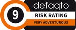 Defaqto Risk Rating 9 logo