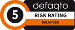 Defaqto Risk Rating 5 logo